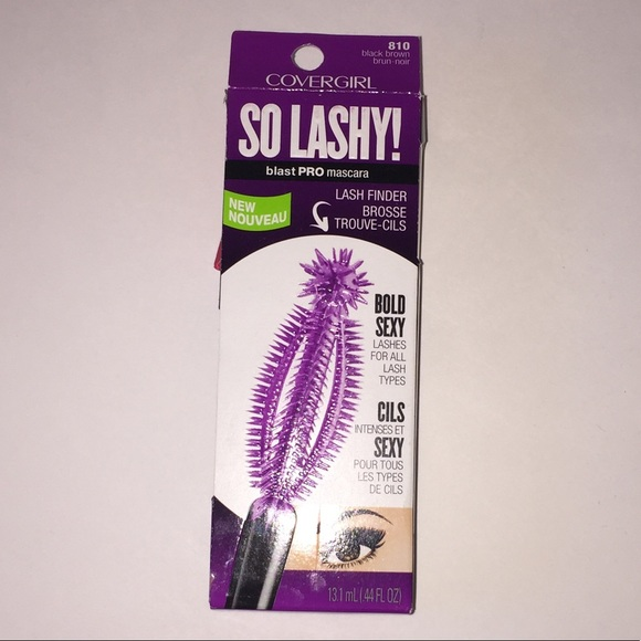 418b2a0d19a COVERGIRL Makeup | So Lashy Blast Pro Mascara Black Brown | Poshmark